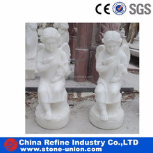 Cheap Polished Girl Angel Stone/Marble Statue /Sculpture