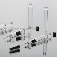 1ml glass prefilled syringe with needle or Luer