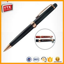 Personalised Souvenir metal etching flower pens