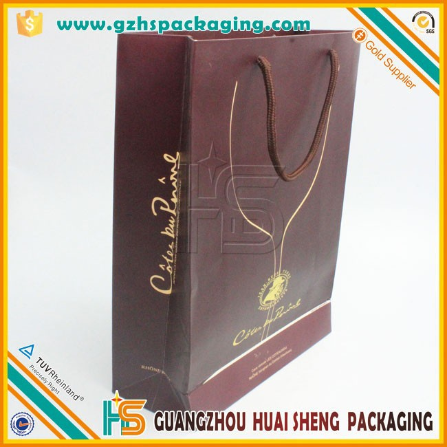 Gift custom luxury wholesale reusable foldable paper shopping bag