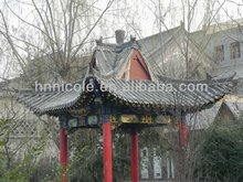 China Luoyang simple Chinese style Chinese unglazed tiles for pavilion,garden