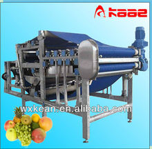 High efficiency industrial belt type fruit juice press