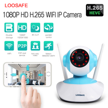 Newest 1080P H.265 wireless ip camera indoor cloud storage wifi security camera