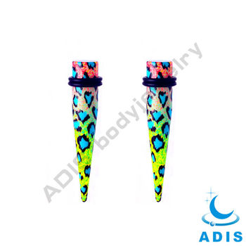 Wholelsale Custom Acrylic Stretching Ear Taper Set