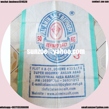Good price of pp woven flour bags 50kg for WEICHAI spare parts