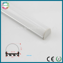 Anodized extruded aluminum profile/Aluminum profile led strip light channel for hanging lighting