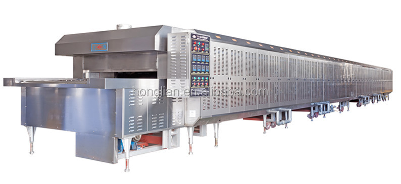 industrial bakery biscuit tunnel oven