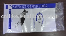 printing bopp laminated pp woven bag use for pet food