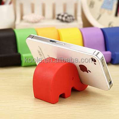 Cheap lovely elephant mobile phone holder