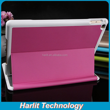 2015 New Design Magnet Bluetooth Keyboard With Leather Cover For iPad mini With Back Light