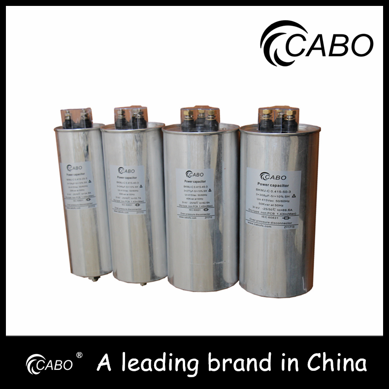 CABO brand energy collected 15 kvar capacitor For var compensation