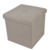 2018 foldable home storage cube Ottoman