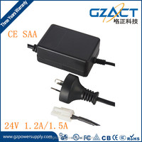 CE UL approved 220vac 24v 1.2a/1.5a ro pump water purifier power transformer