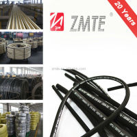 "SAE 100R1AT 10mm 3/8"" Hydraulic Rubber Hose and Hose Assembly"