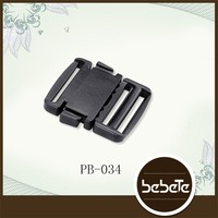 Good elastic bulk plastic seat belt buckles