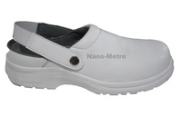 NMSAFETY clean room safety shoes white esd safety shoes