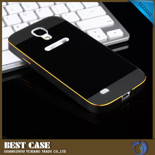 for samsung galaxy s4 luxury gold aluminium case metal bumper case for galaxy s4