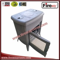 Good material freestanding removable ashpan wood stove
