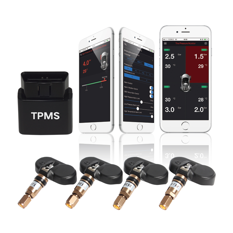 45KHz semi truck tire pressure monitoring systems with best quality and low price