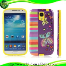 Make Your Own Design PC TPU Combo Cases,High Quality Mobile Accessories For Samsung S4 I9500