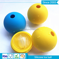 silicone ice ball tray for Chivas
