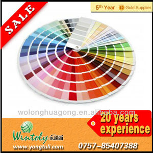 RAL color card powder coating