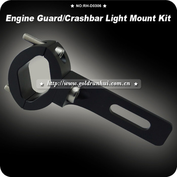 "1 1/5"" Handlebar Head Light Bracket Motorcycle Headlight Holder Cafe Racer Billet Lamp Bracket CHOPPER Custom 1 1/5 Bar"