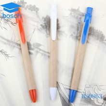 Eco-friendly paper ball pen factory promotional recycled paper pen making machine