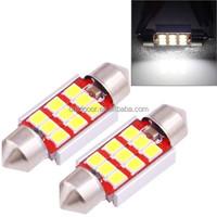 36mm 3.0W 180LM White Light 9 LED SMD 2835 CANBUS License Plate Reading Lights Car Light Bulb