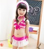 Charming kids swimwear 2016 sexy lace girl bathing suit micro bikinis baby girls swimsuit SW124