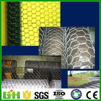 Alibaba China chicken galvanized hexagonal wire mesh With Low price (direct factory)