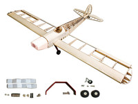 Balsa Wood Airplane Model Both Gas Power And Electric Power Can Be Used Space Walker Balsa Kit 1.2M Only KIT Without Covering