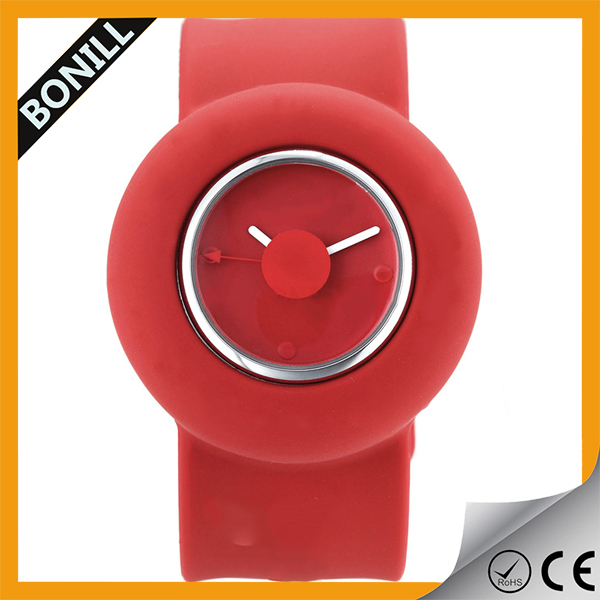 cheap hot promotional items- OEM promotional kids and adult slap watch