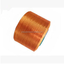 High strength 100% colored polypropylene dyed pp filament yarn 1500D for knitting webbing