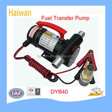 Portable diesel fuel oil transfer pump 12v