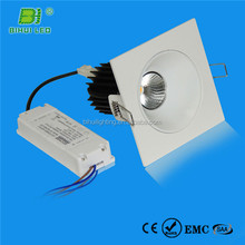 NEW hot design,smd dimmable 9w swivel led downlight