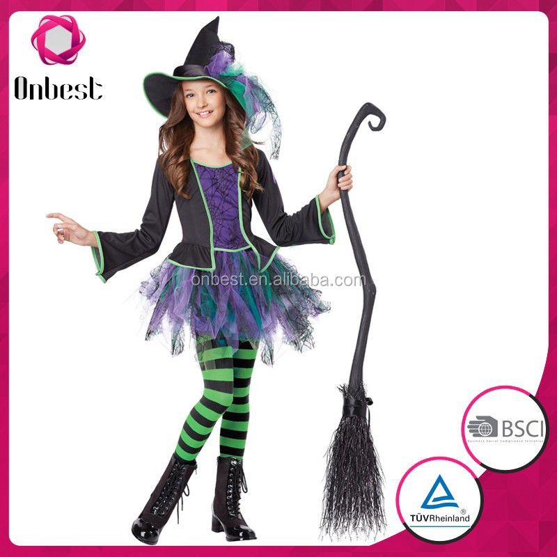 Trendy carton clothing halloween costume persnickety outfits wholesale children's boutique clothing
