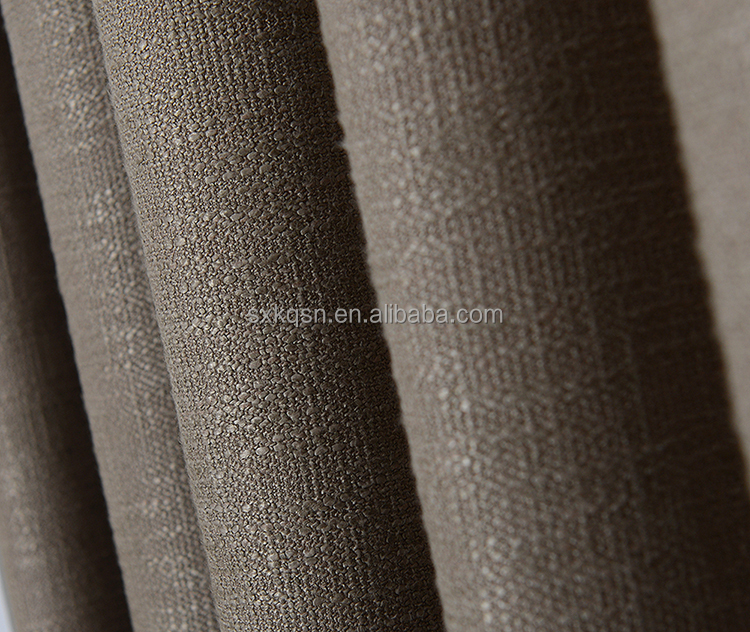 Oem service professional ready made linen drapery curtain for room
