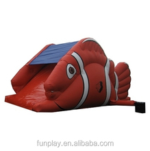 High quality Christmas inflatable slide ,man and animal inflatable slide for kid inflatable water slide for sale
