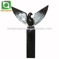 Stone Abstract Eagle Carving Statue