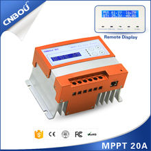 12/24v intelligent solar battery charge controller