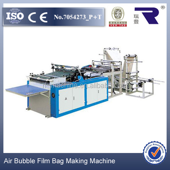 chinese import machines for sale bubble film bag making machinery