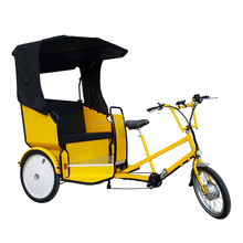 China Manufacture Three Wheel Passenger Rental Carriage Electric Tricycle Bikecab for Sale