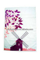 cotton printed tea towel