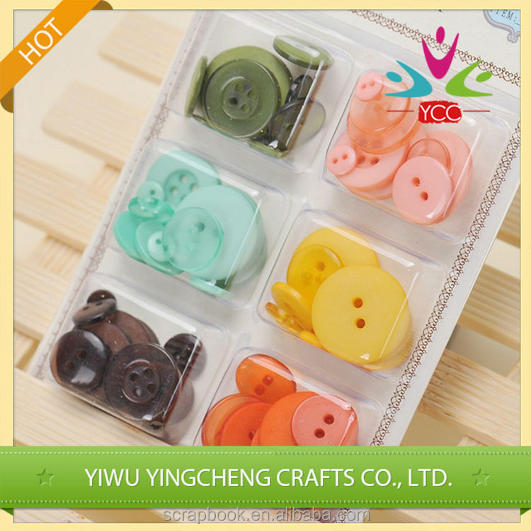 High quality low price clear coconut button