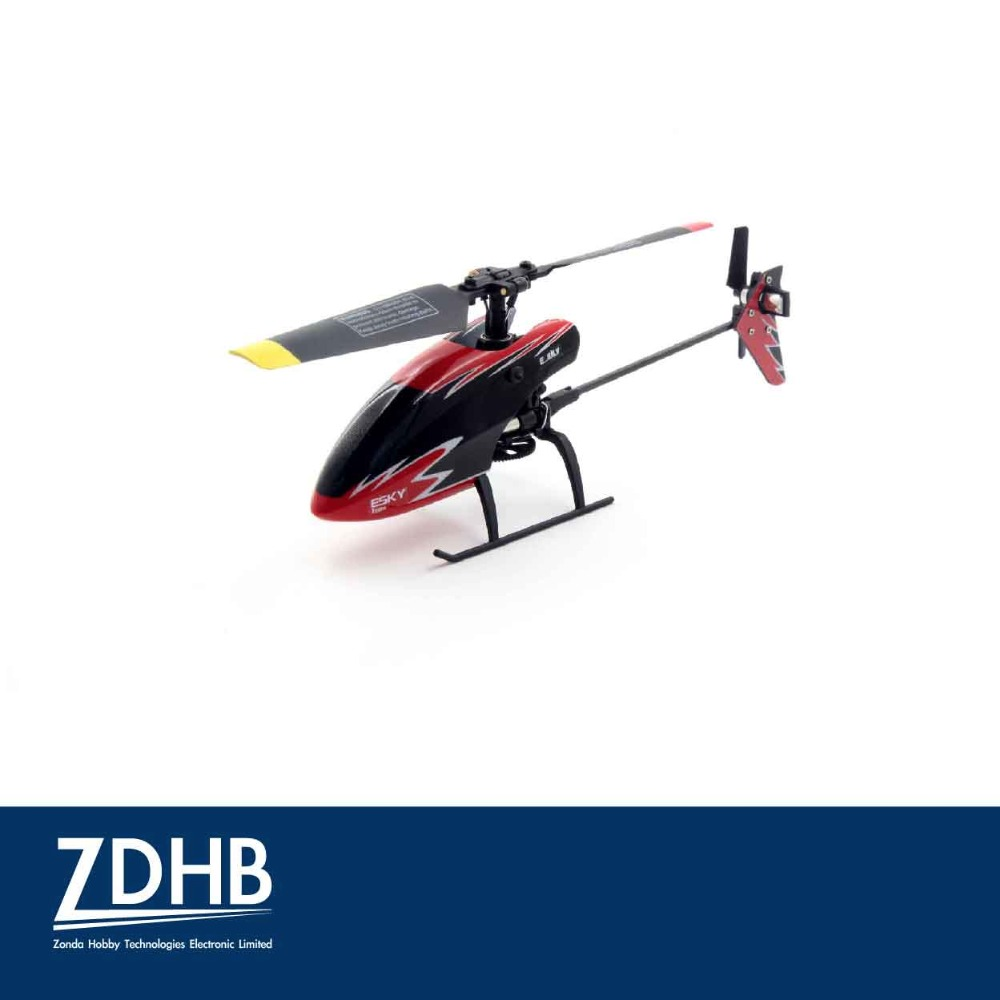 ESKY 150X CC3D 4 channel 2.4GHz 6 Axis Gyro Single Blade Flybarless Mini RC helicopter