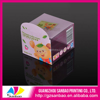 Wholesale Small UV Printing Plastic PVC Display Box