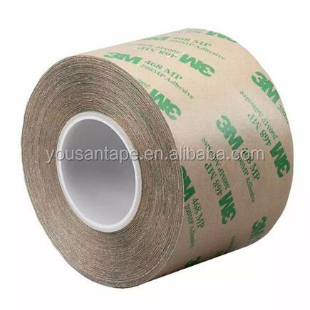 Equivalent to 3M 467 acrylic adhesive double sided transfer tape
