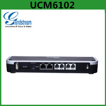 IP PBX system Grandstream UCM6102 500 IP Extensions With 2FXS/2FXO Ports