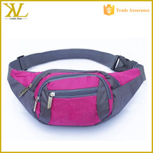 New Fashion Waterproof 4 Zipper Pockets Running Sport Waist Pack Bag
